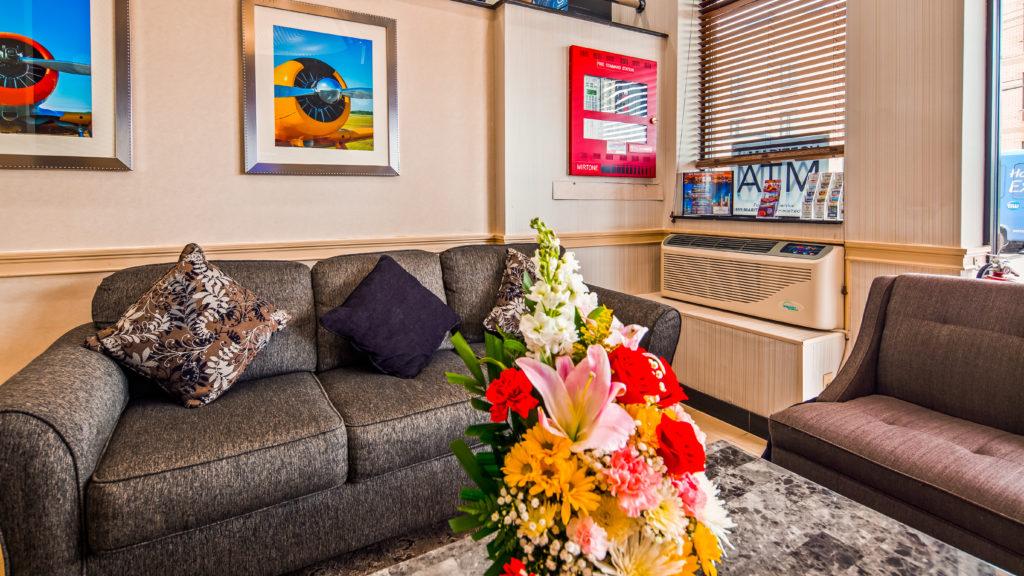 Best Western JFK Airport Hotel lobby seating