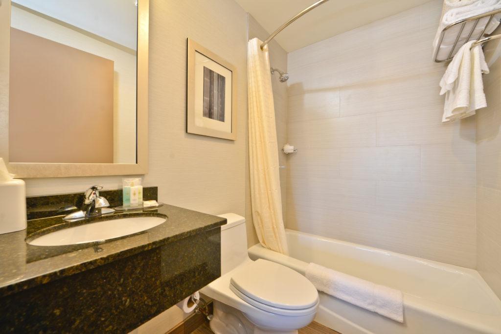 Comfort Inn Midtown West bathroom