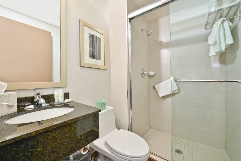 Comfort Inn Midtown West bathroom