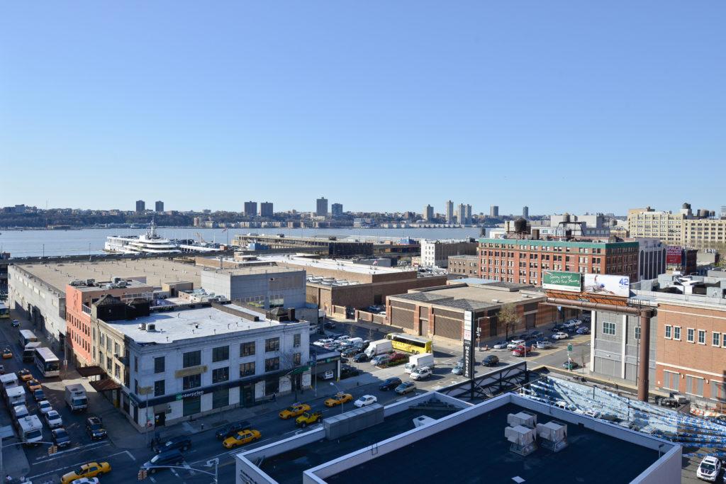 Comfort Inn Midtown West rooftop view
