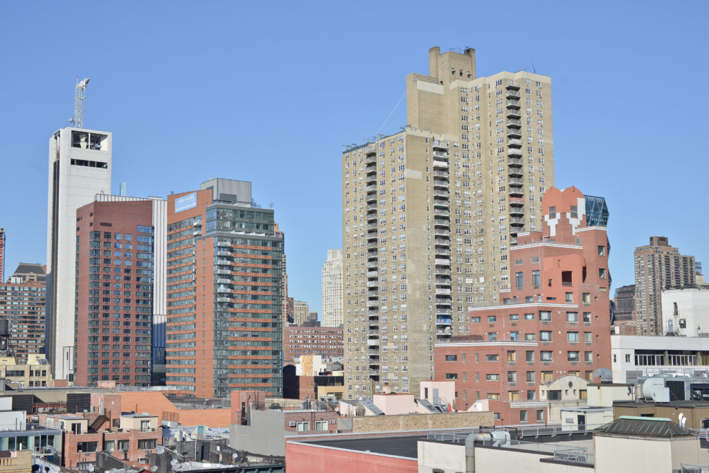Comfort Inn Midtown West rooftop view