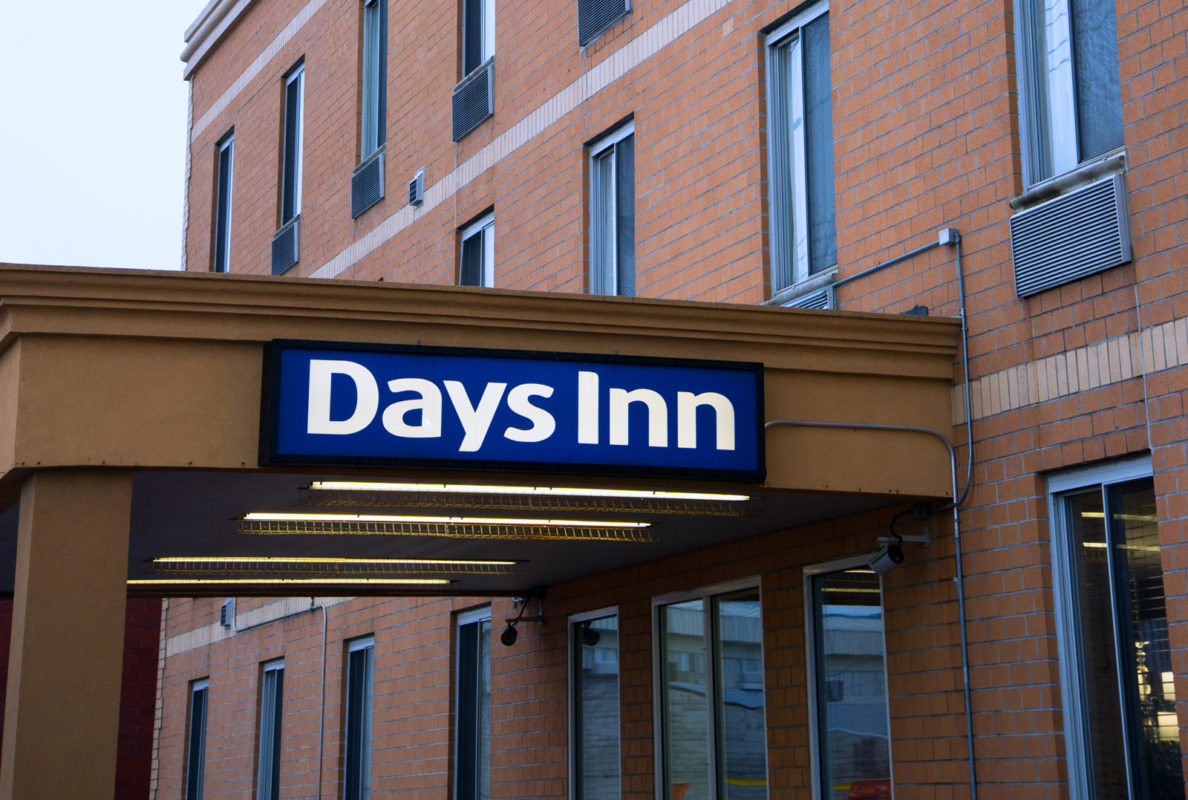 Days Inn Jamaica - JFK Airport exterior front entrance