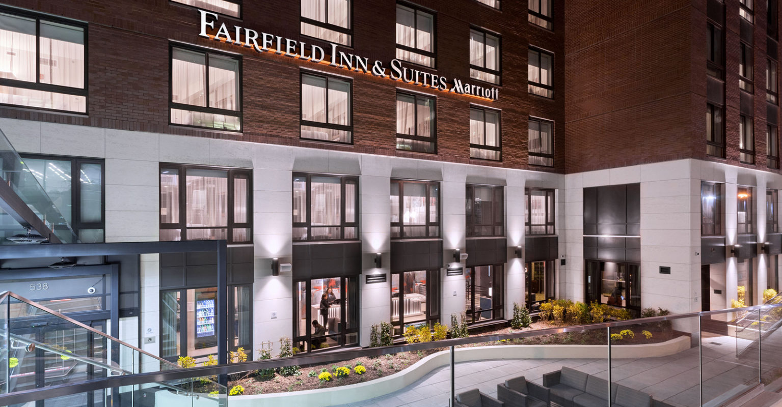 Fairfield Inn & Suites New York Manhattan/Central Park exterior