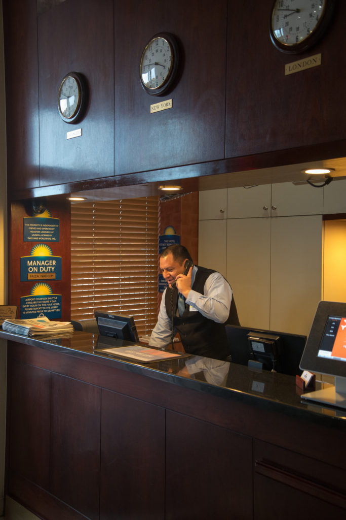 Days Inn by Wyndham Jamaica/JFK Airport front desk