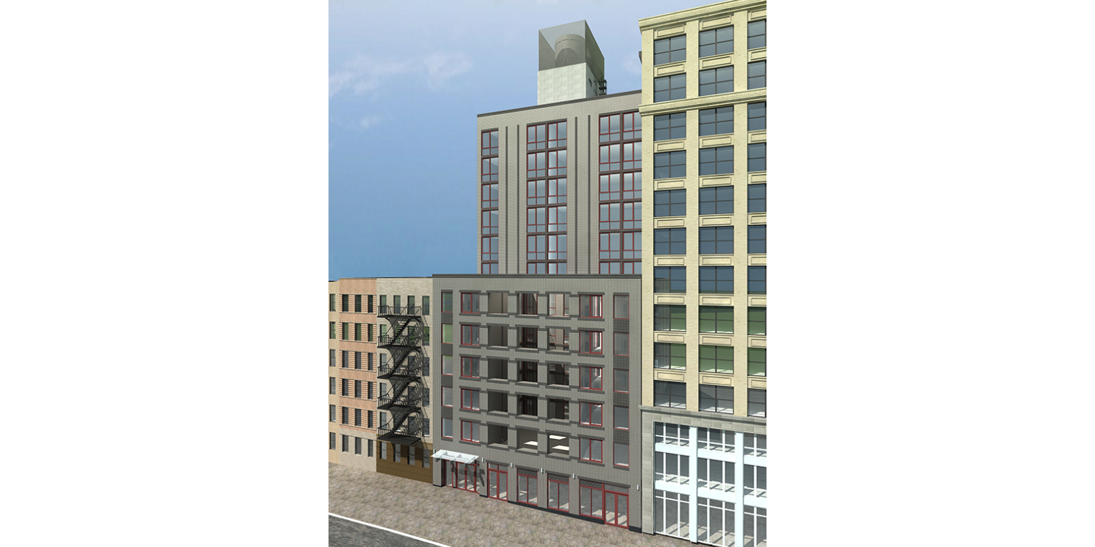 SpringHill Suites New York Midtown Manhattan/Gramercy Park Rendering of Exterior