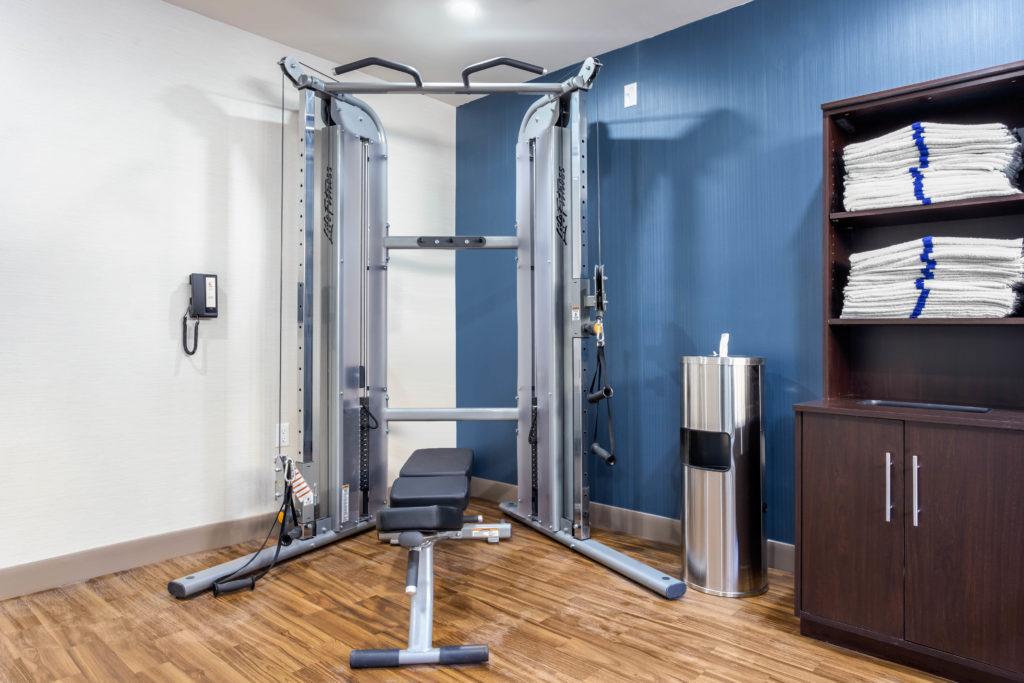 Comfort Inn Prospect Park-Brooklyn fitness room