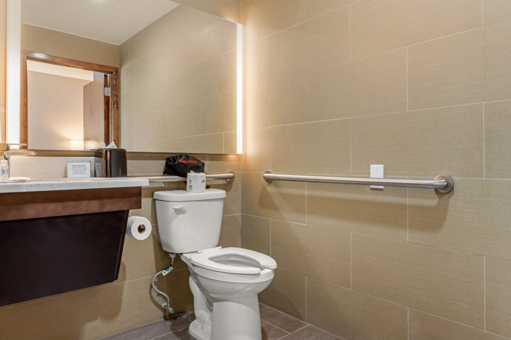Comfort Inn Prospect Park-Brooklyn accessible bathroom