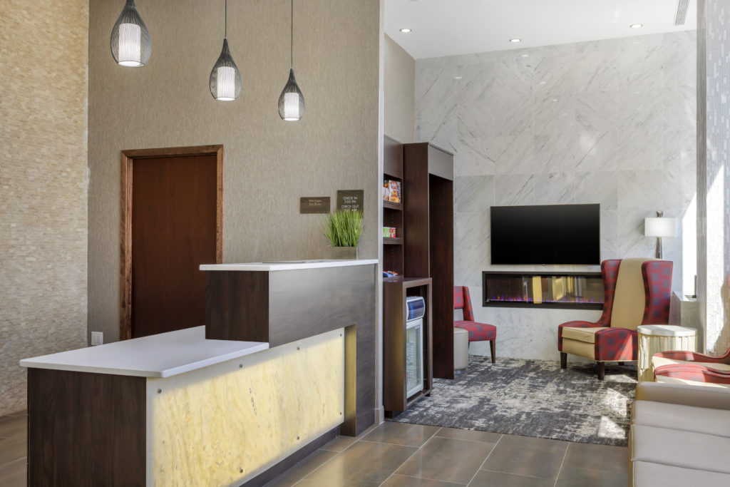 Comfort Inn Prospect Park-Brooklyn lobby seating
