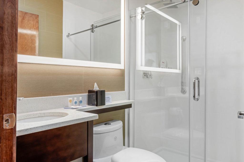Comfort Inn Prospect Park-Brooklyn bathroom