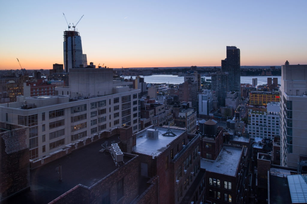 Holiday Inn New York City – Times Square view from roof