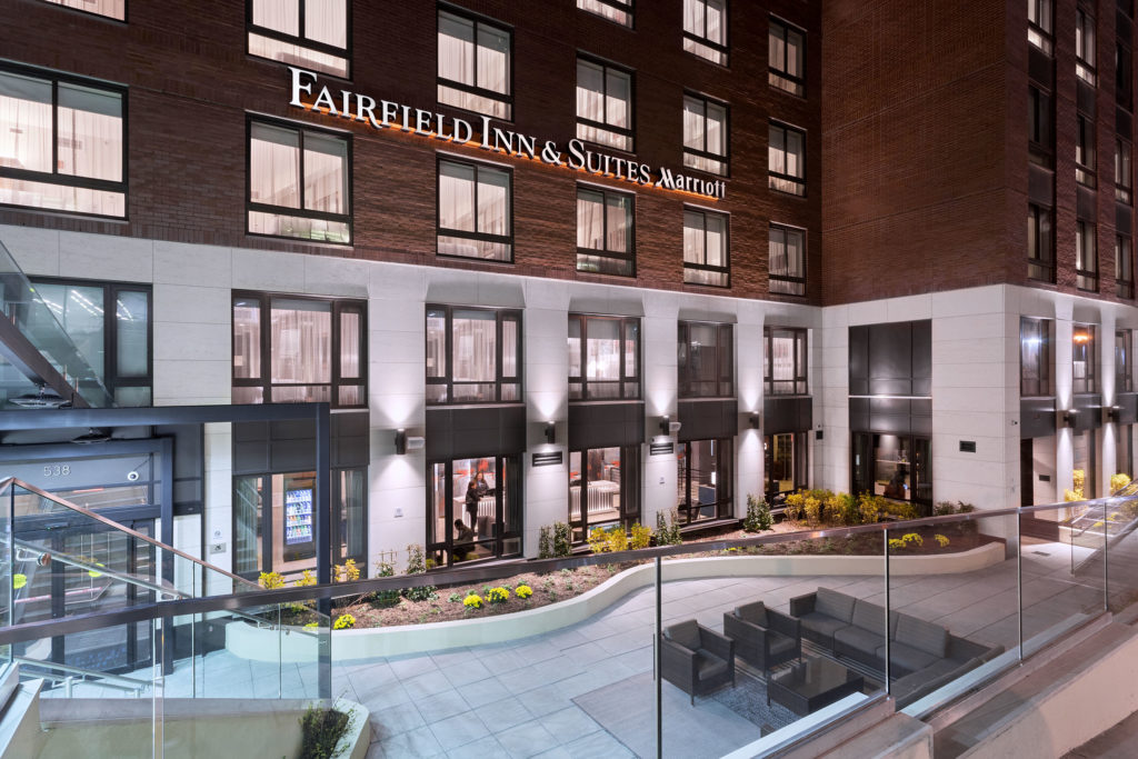 Fairfield Inn & Suites New York Manhattan/Central Park exterior night