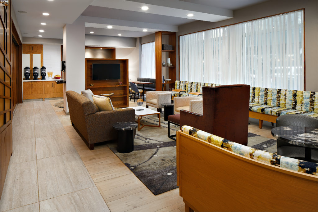 TownePlace Suites New York Manhattan/Times Square lobby seating