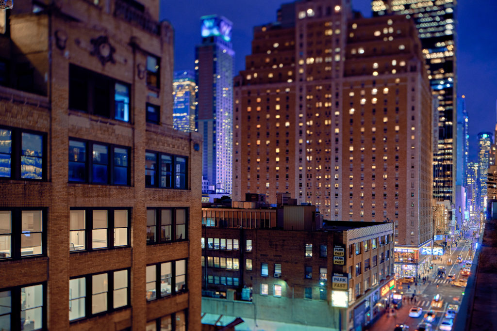 TownePlace Suites New York Manhattan/Times Square view from roof